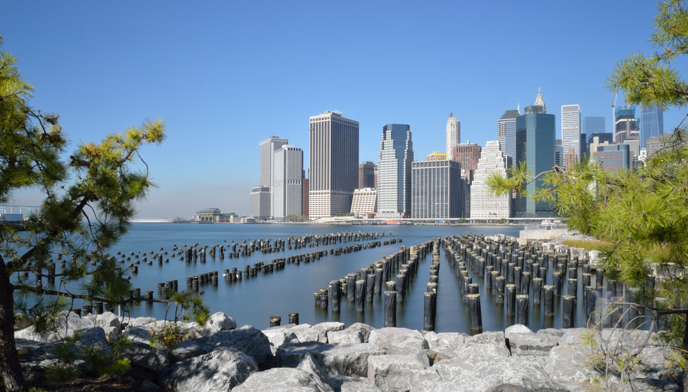 Downtown Manhattan - New York City i USA