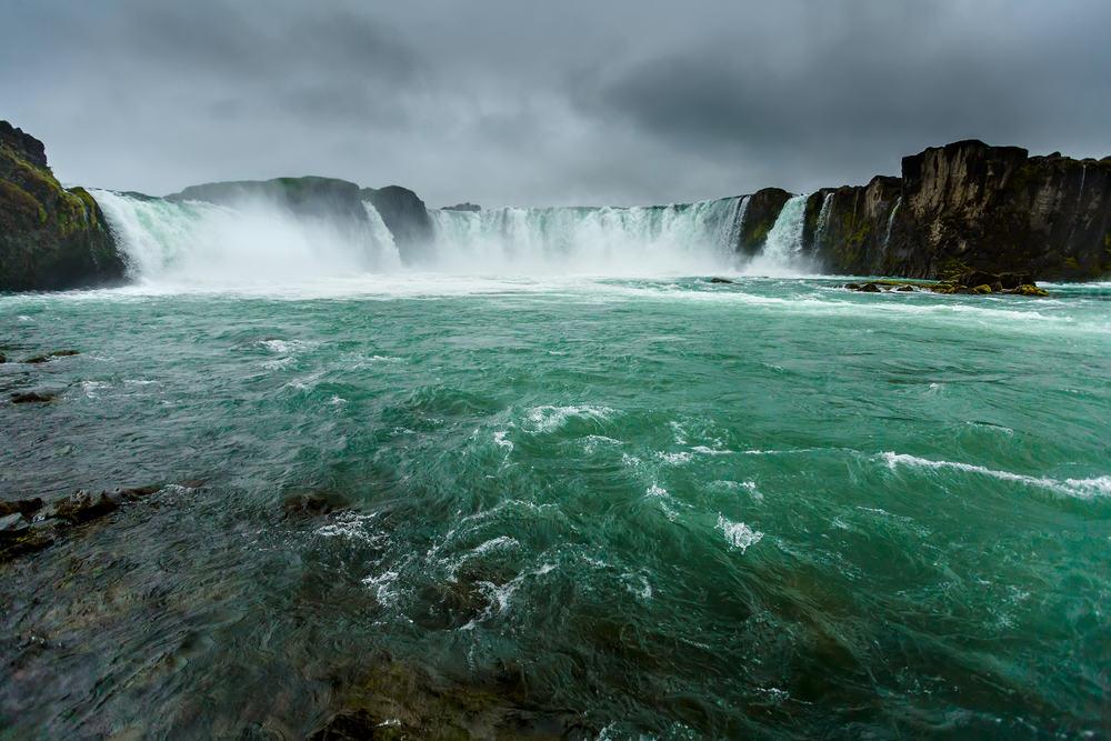 Godafoss vandfaldet på Island