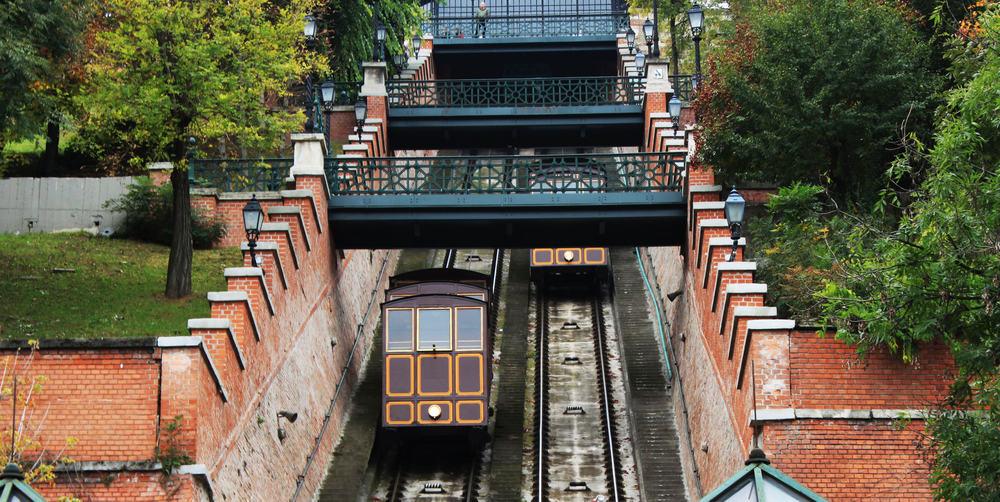 Kabelbane - Budapest i Ungarn