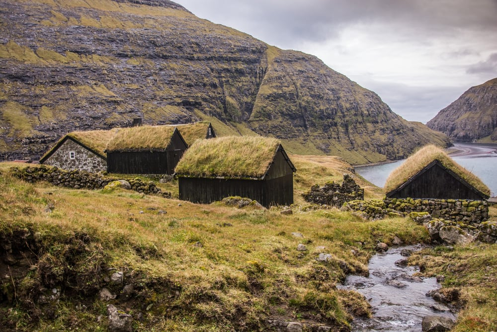 Saksun på Færøerne