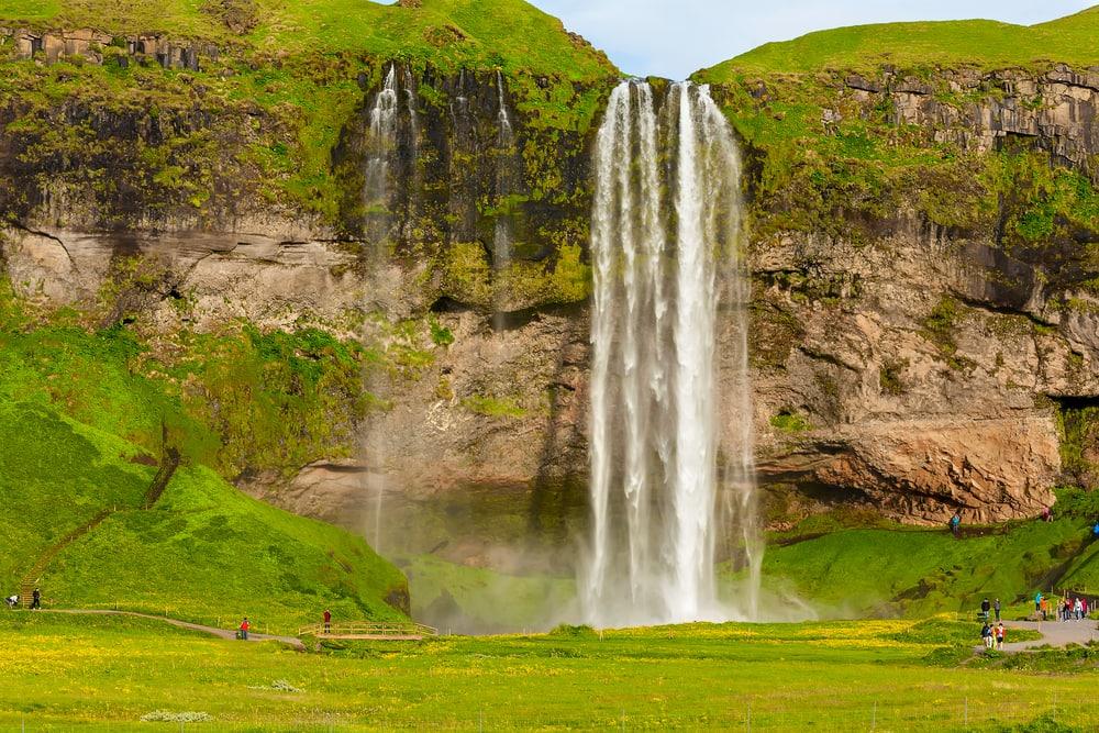 Seljalandsfoss vandfaldet på Island