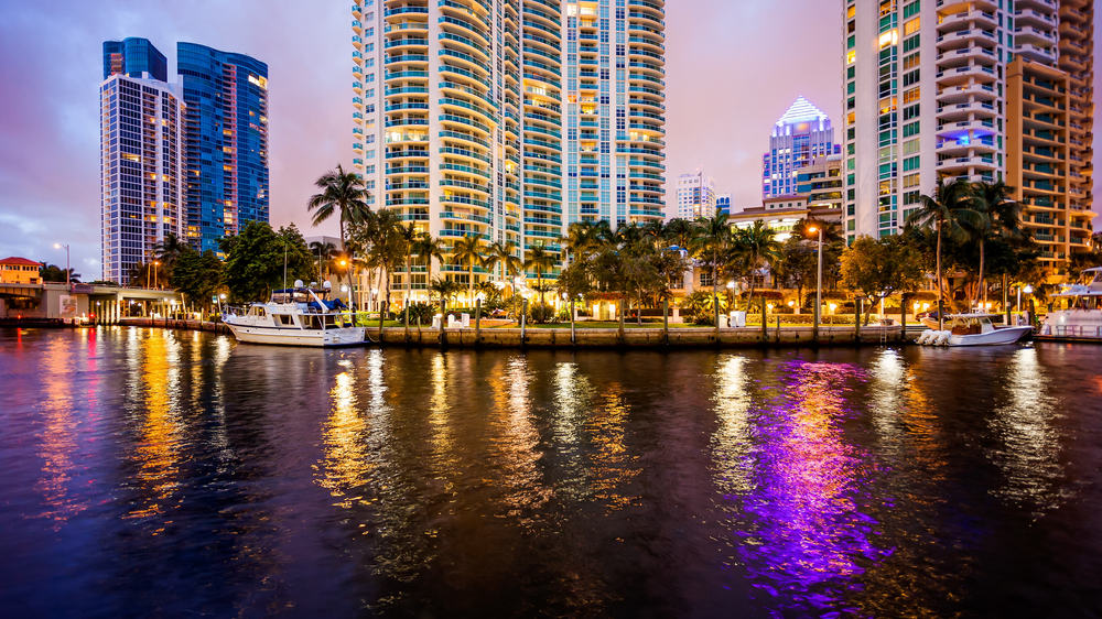 Skyline - Fort Lauderdale i Florida