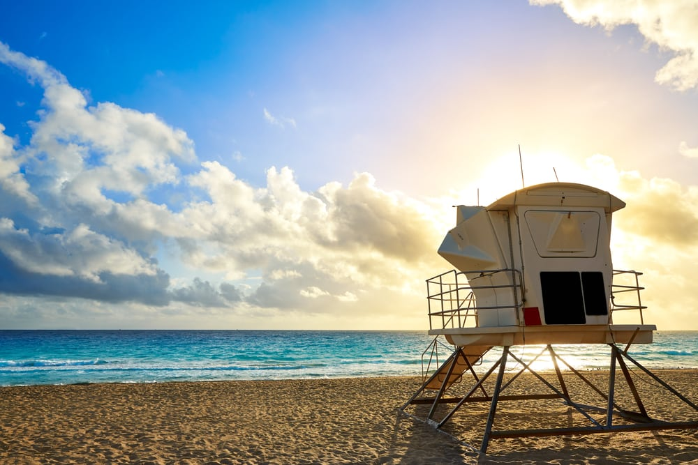 Sandstrand - Fort Lauderdale i Florida