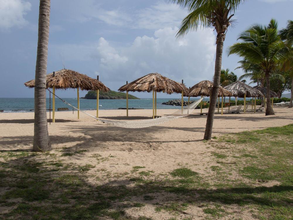Strand på Sankt Croix på Jomfruøerne