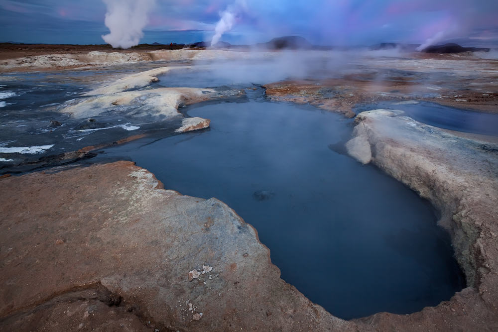 Termiske kilder på Island