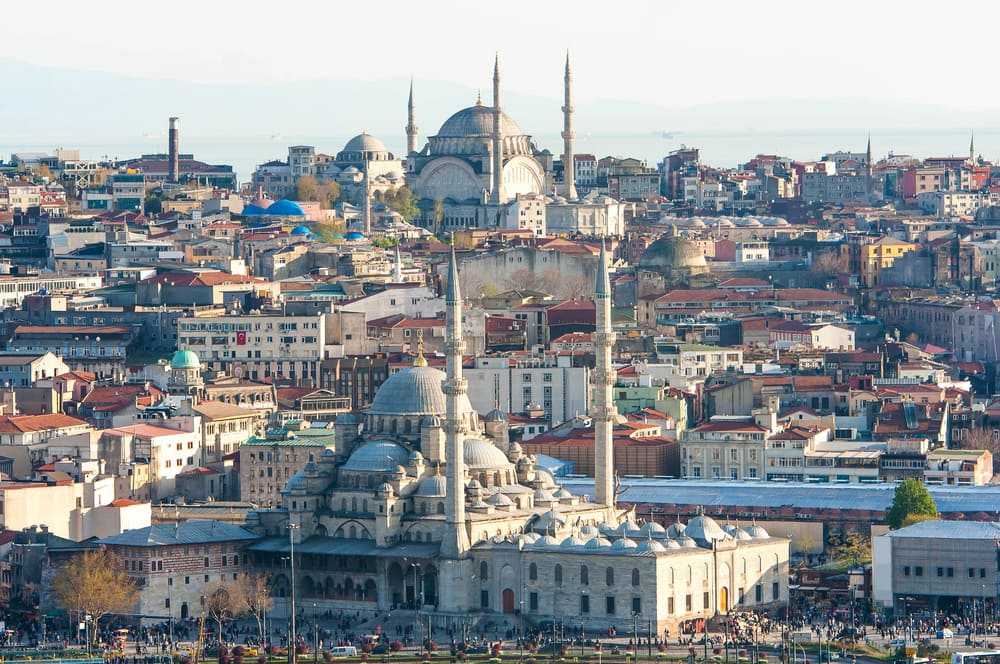 Tyrkiets hovedstad Istanbul