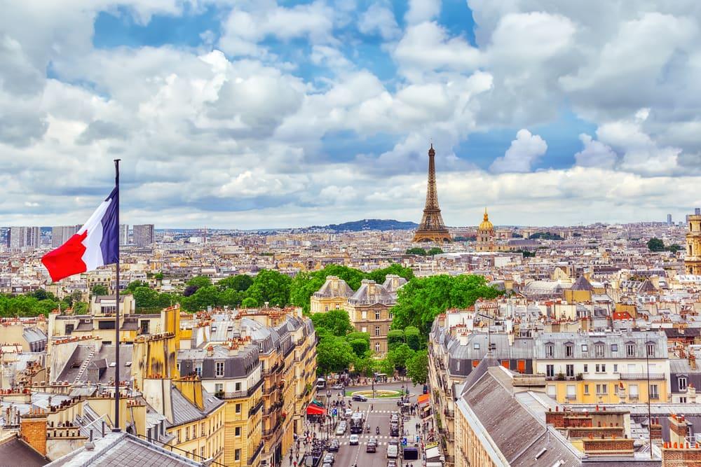 Udsigt over Paris' tage