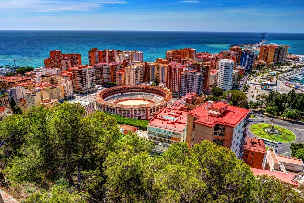 Badeferie i Malaga i Spanien