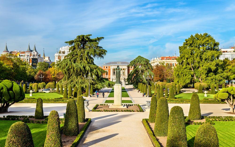 Buenretiro Park - Madrid i Spanien