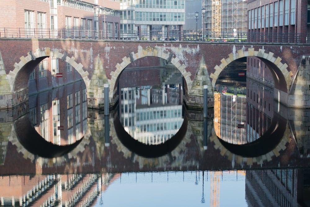Ellerntorsbruecke - Hamborg i Tyskland