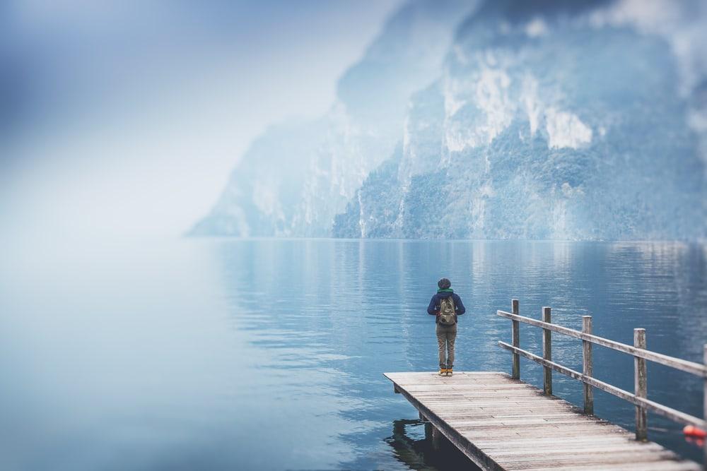 Gardasøen i Italien