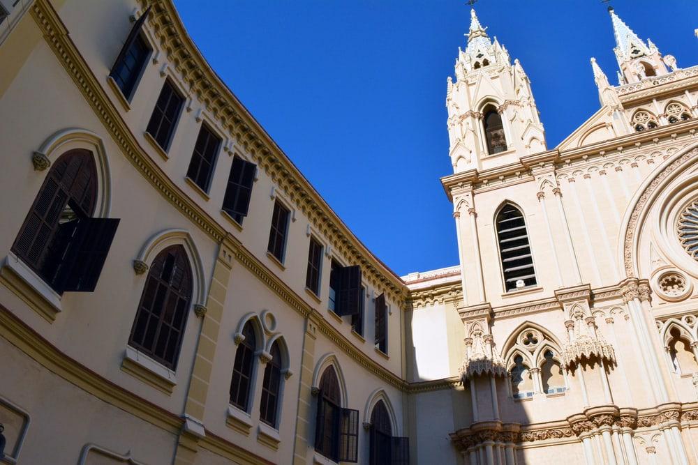 Katedral - Malaga i Spanien