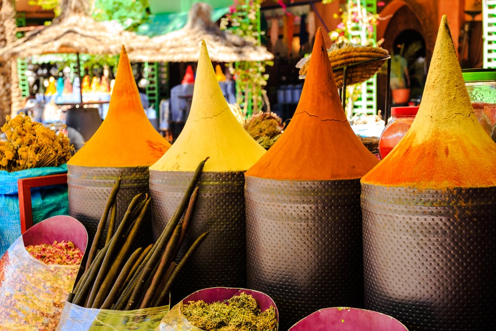 Krydderier - Marrakech i Marokko