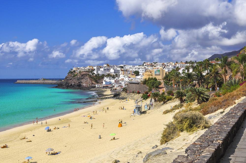 Morro Jable - Fuerteventura i Spanien
