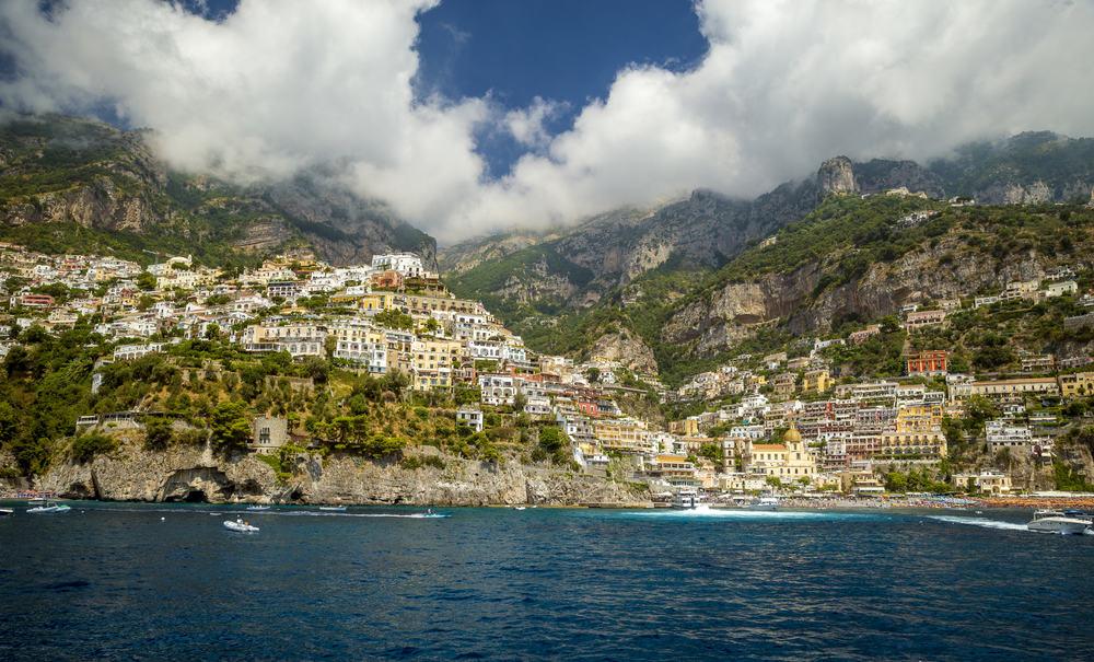 Positano - Amalfikysten i Italien