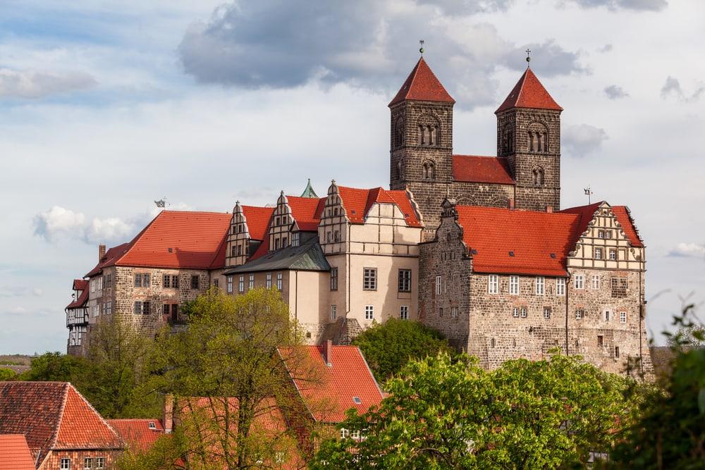 Quedlinburg - Harzen i Tyskland