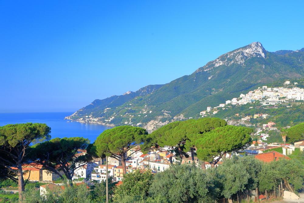 Vietri sul Mare - Amalfikysten i Italien