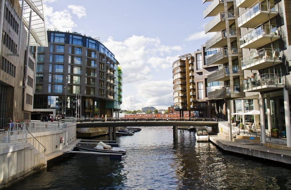Aker Brygge - Oslo i Norge