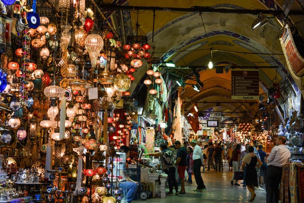 Bazar - Istanbul i Tyrkiet