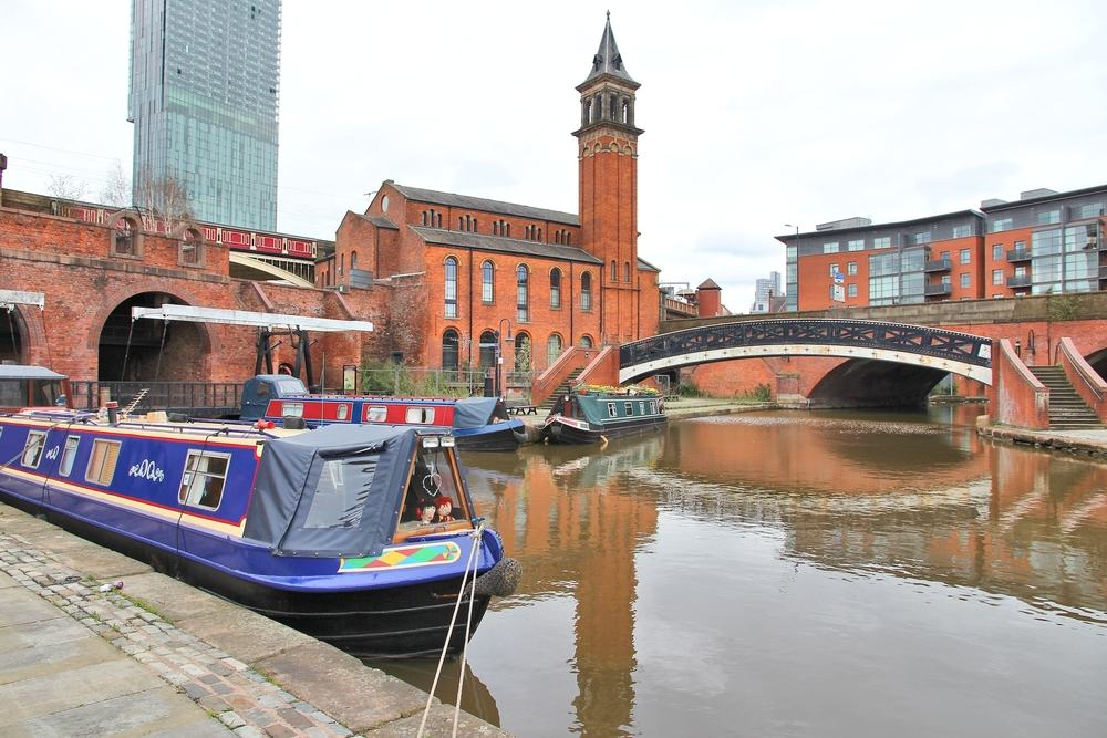 Castlefield District - Manchester i England