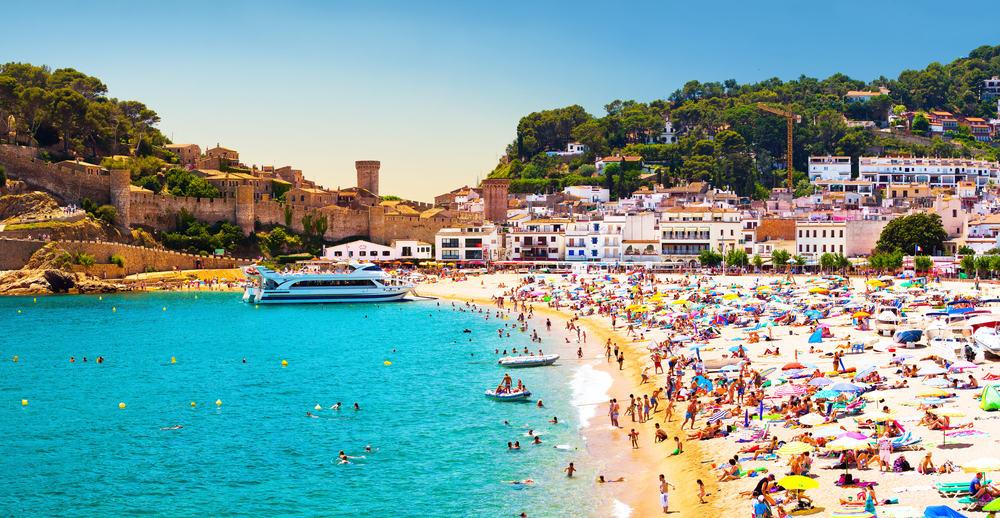Costa Brava i Spanien