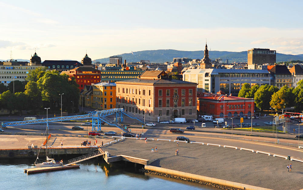 Cruise til Oslo i Norge