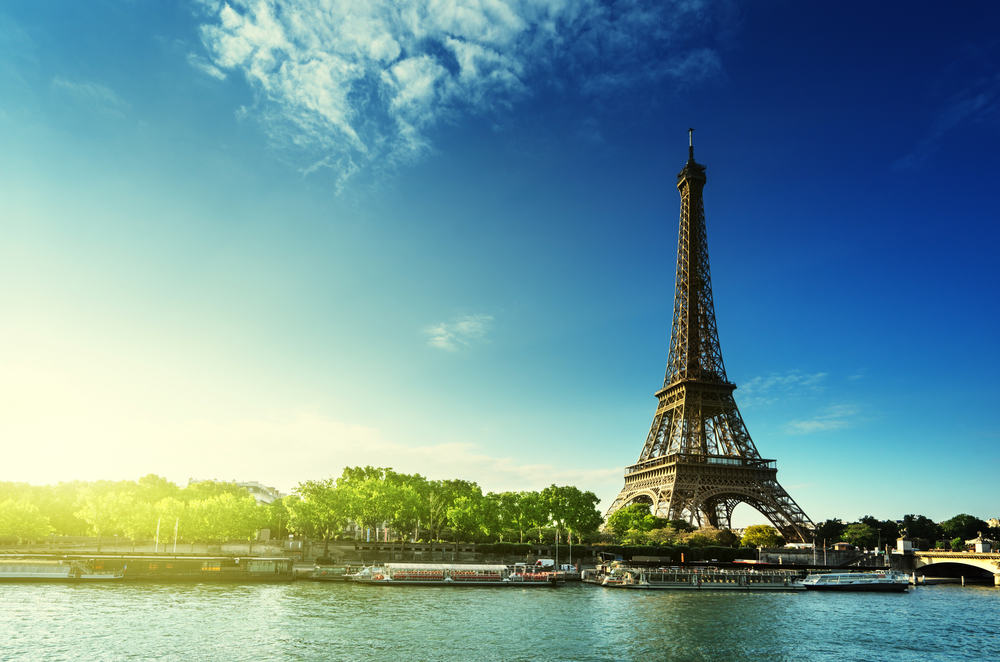Eiffeltårnet - Paris i Frankrig