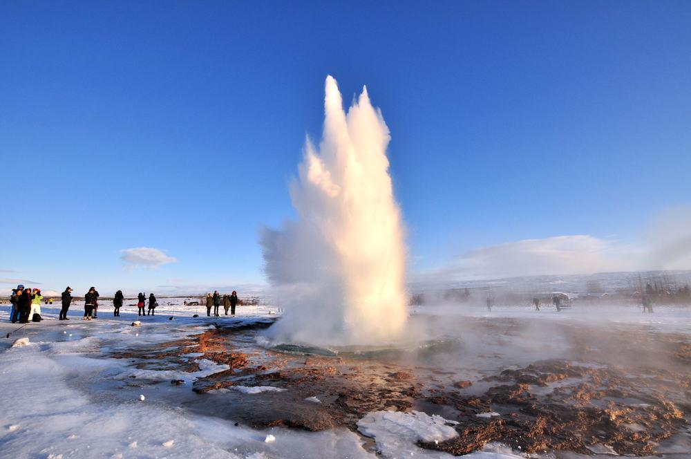 Gejser i Island