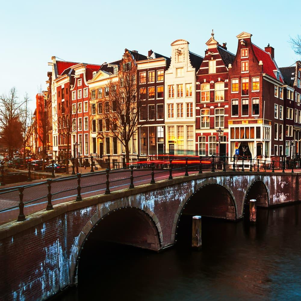 Keizersgracht - Amsterdam i Holland