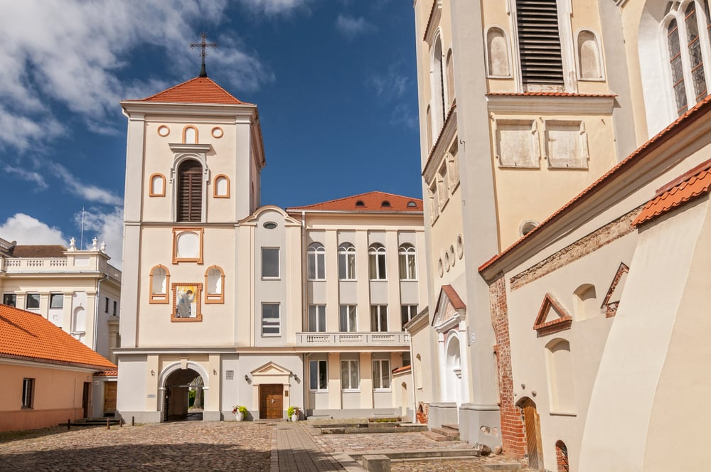 Kirke i Kaunas - Litauen