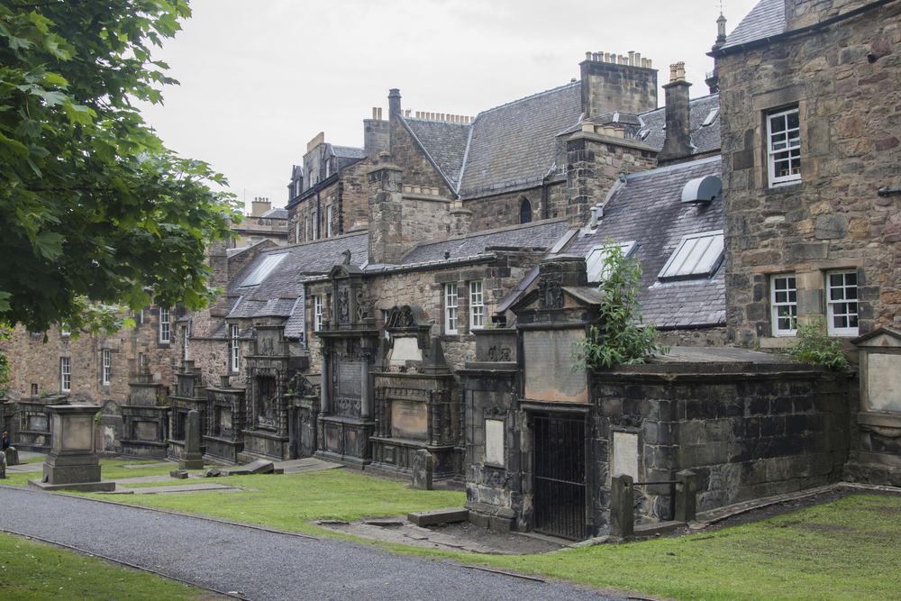 Kirkegård i Edinburg