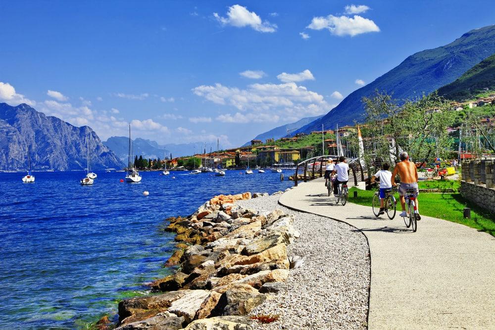 Malcesine - Gardasøen i Italien