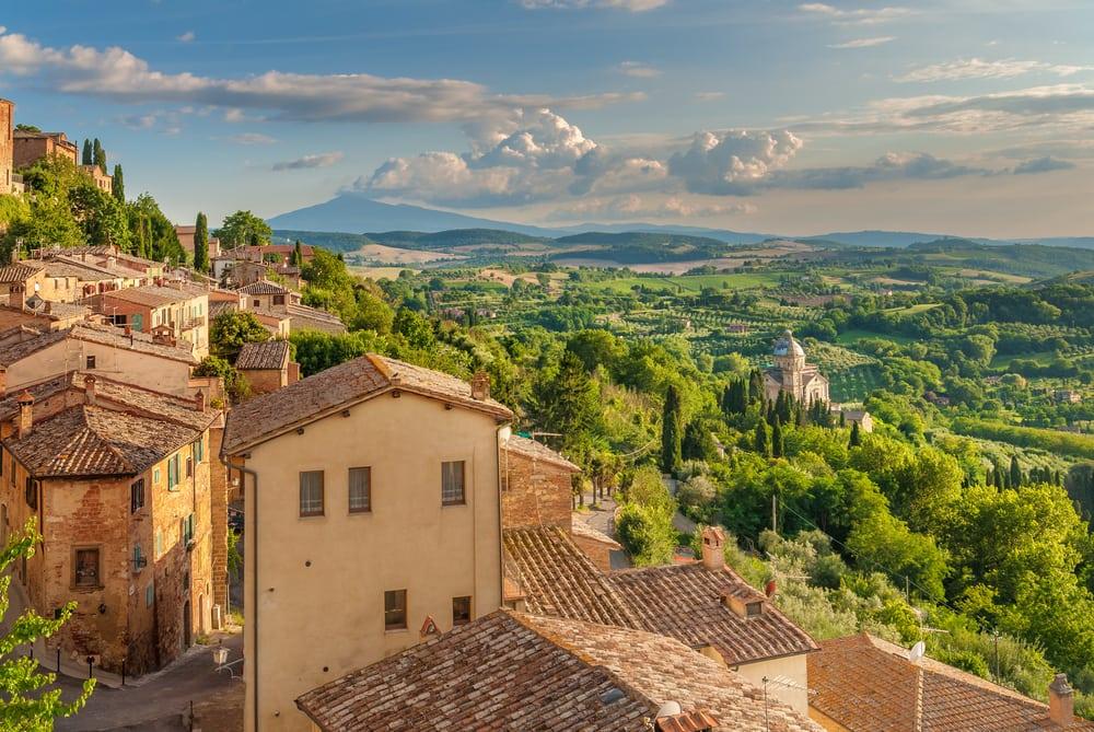 Montepulciano - Toscana i Italien