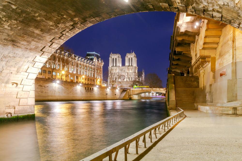 Notre Dame - Paris i Frankrig