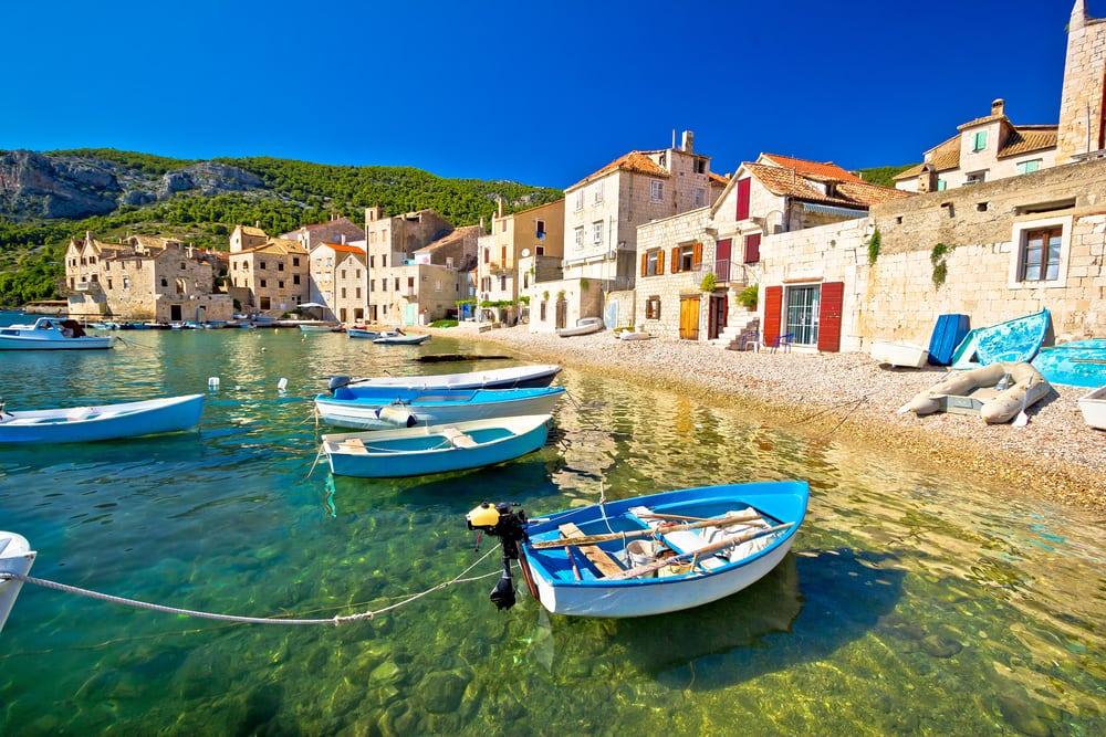Øen Vis i Kroatien
