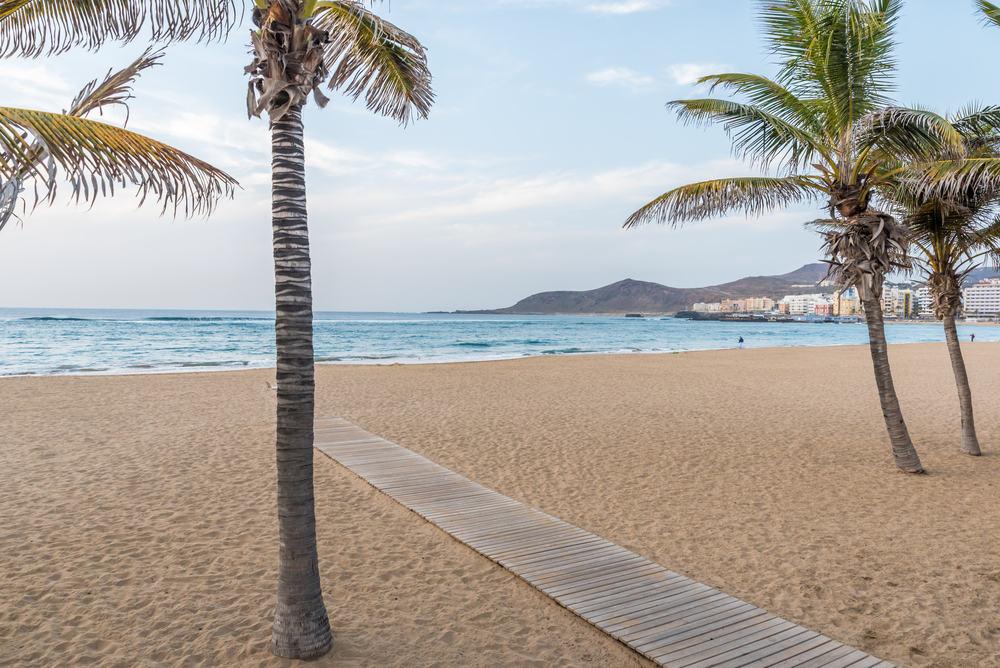 Playa de las Canteras - Gran Canaria i Spanien