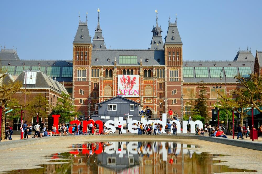 Rijks-museet - Amsterdam i Holland