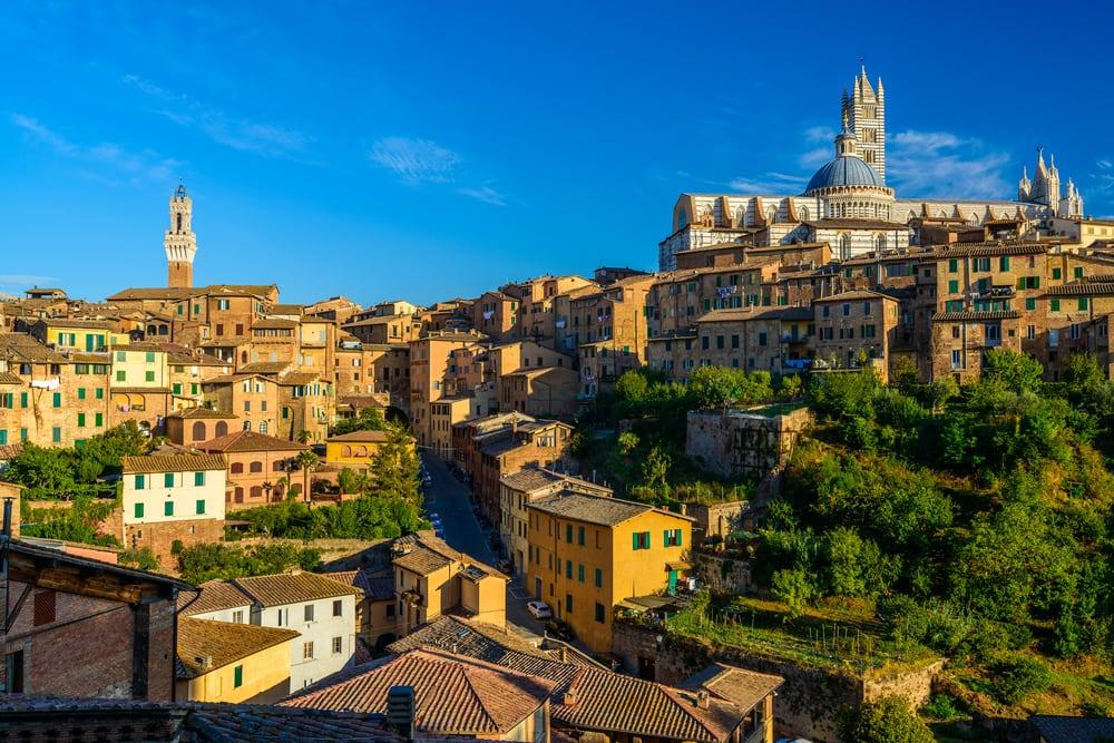 Siena i Toscana