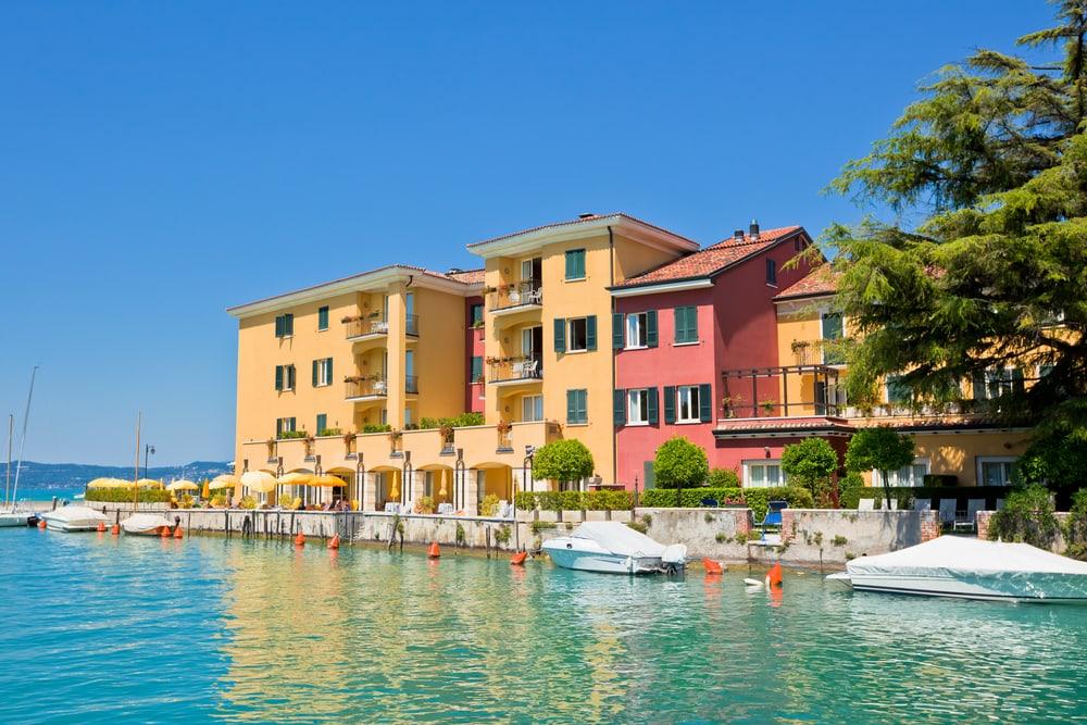 Sirmione - Gardasøen i Italien