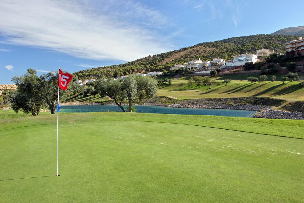 Alhaurin golfbanen på Costa del Sol i Spanien