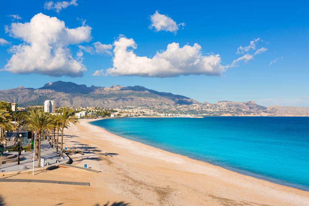 Altea Playa del Albir - Alicante i Spanien