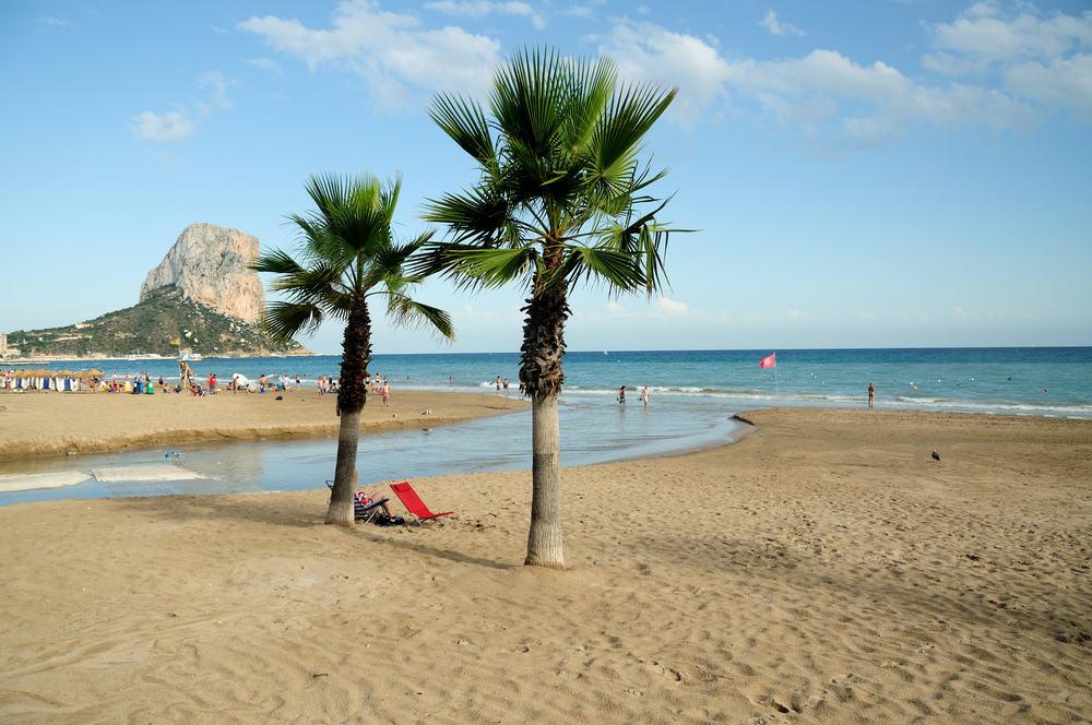 Calp på Costa del Sol i Spanien