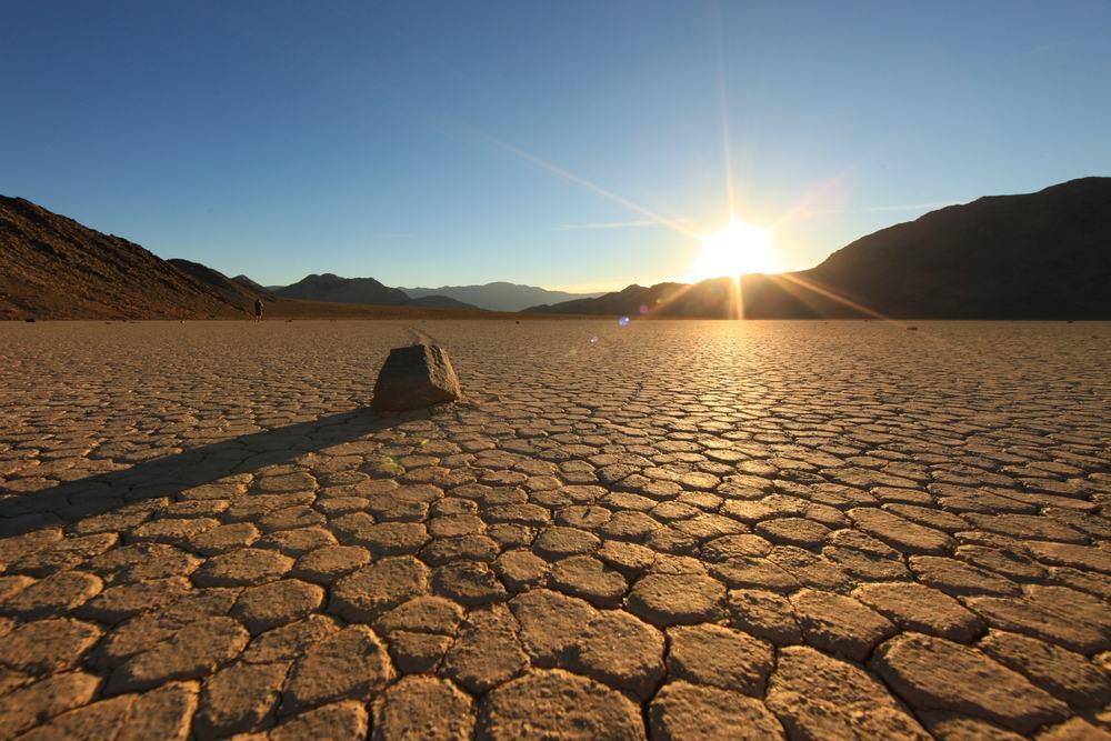 Death Valley - Californien i USA