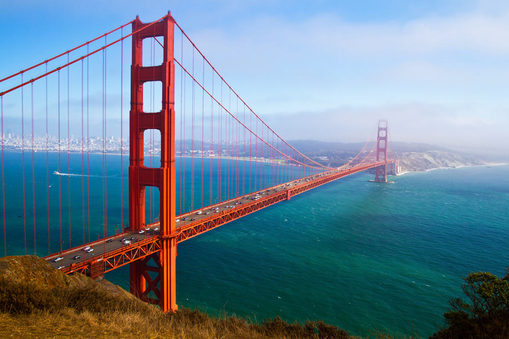 Golden Gate - San Francisco i Californien - USA