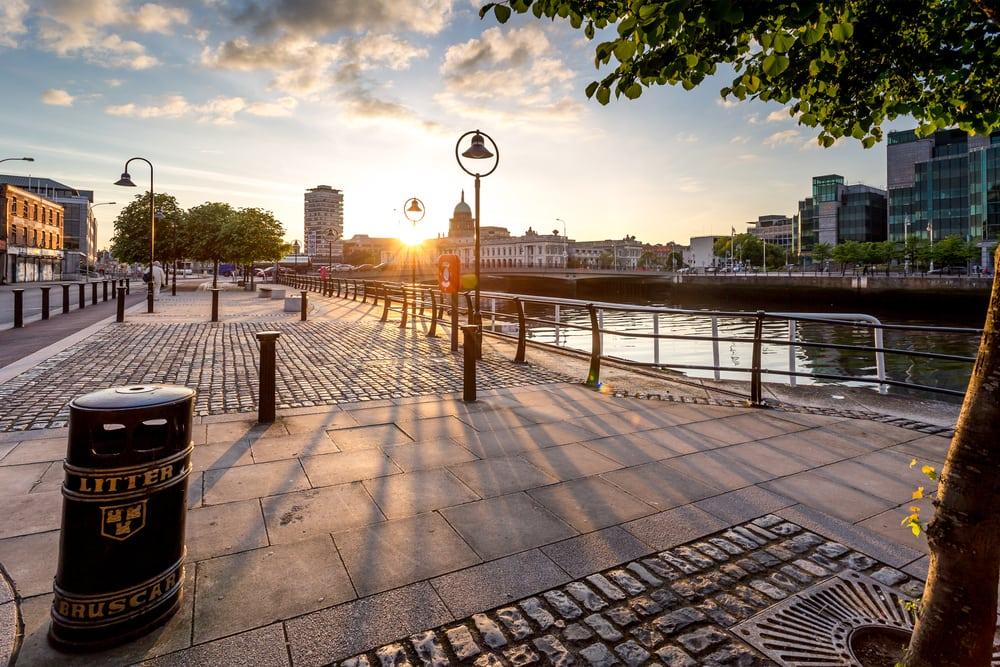 Irlands smukke hovedstad Dublin