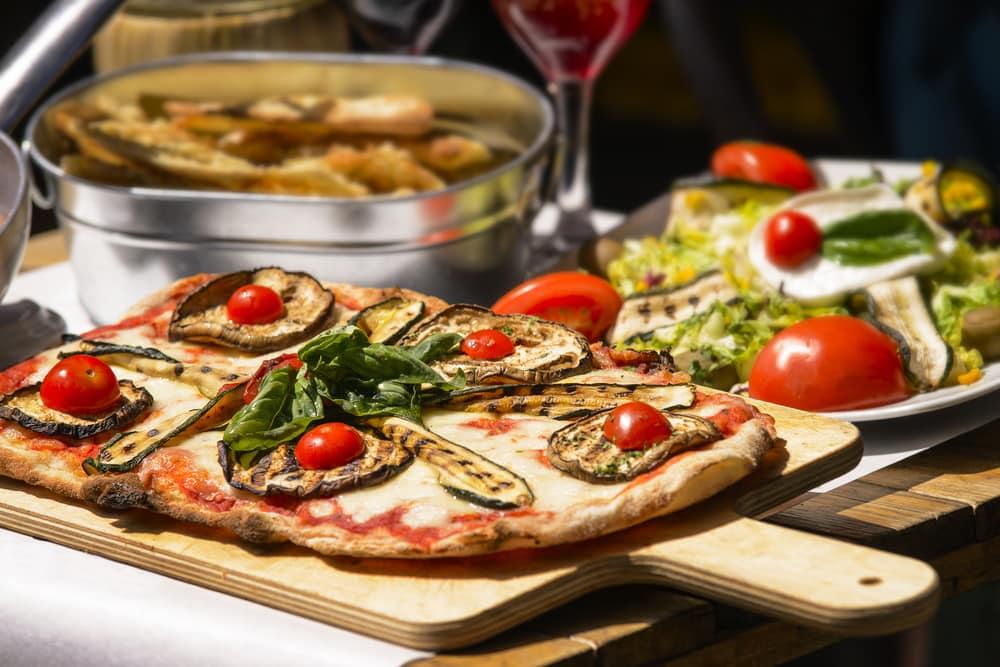 Italiensk pizza - Rom i Italien