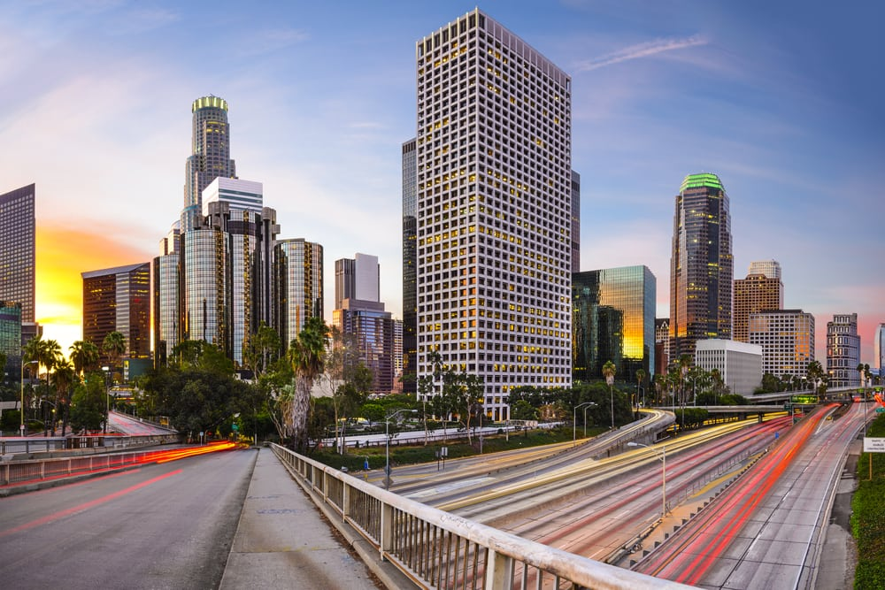 Los Angeles - Californien i USA