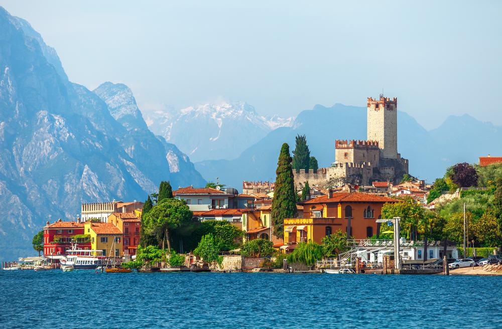Malcesine - Veneto i Norditalien