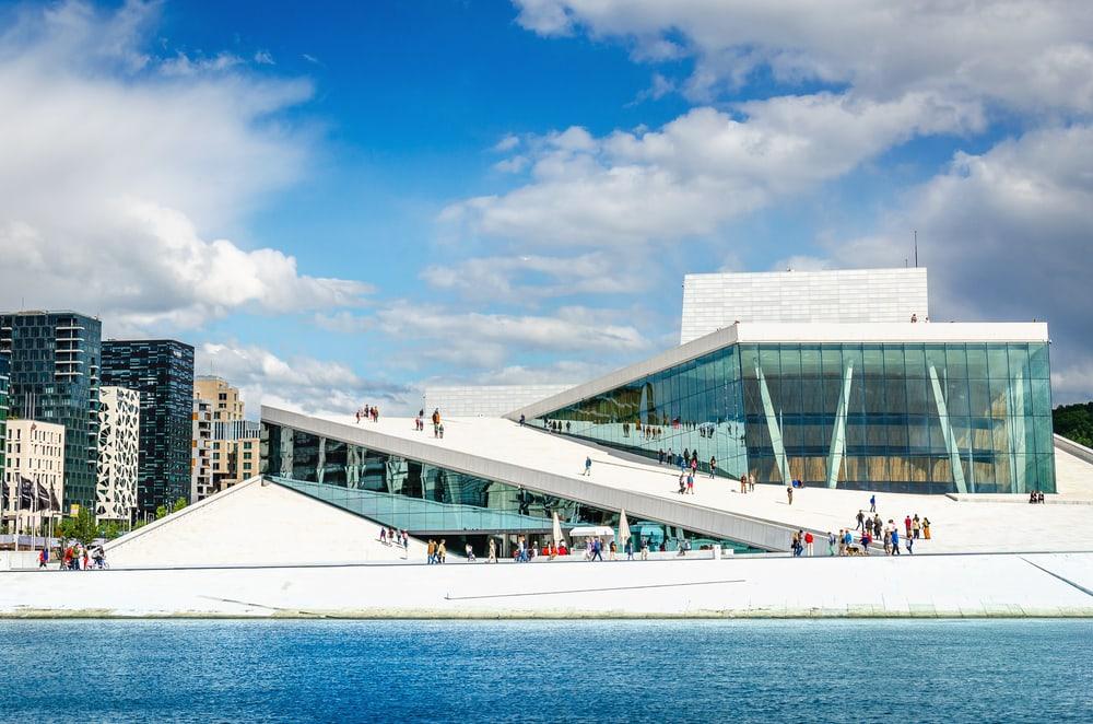 Operahuset i Oslo - Norge