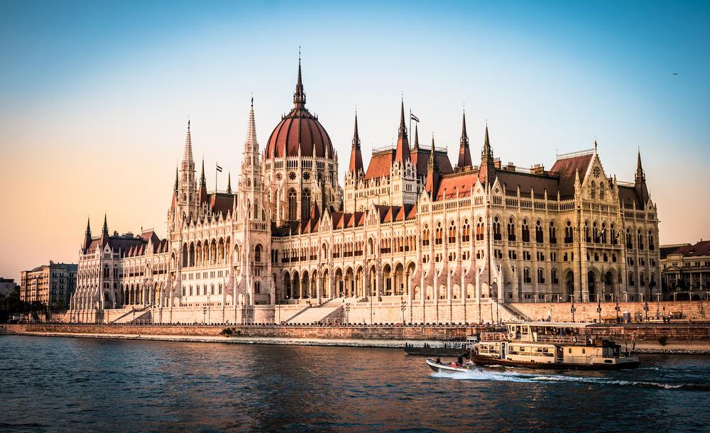 Parlamentet - Ungarn i Budapest